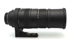 Sigma APO150-500mm F5-6.3 DGOS HSM lens; with carrying case