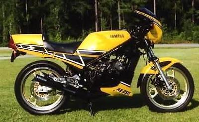 Yamaha Rz350 Polished Stainless Steel Engine Bolt Kit Set
