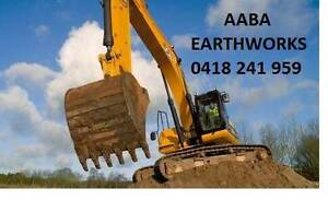 AABA Earthworks - Excavators, Bobcats & Tipper Hire/Soil Removal Kellyville The Hills District Preview