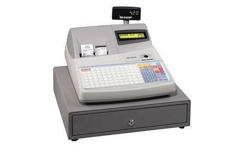 sharp xe a23s. sharp er cash register xe a23s