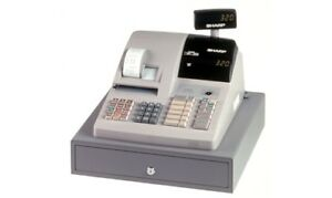 Sharp er a320 used cash register,double bonded paper printer, ex