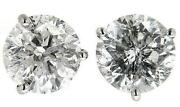 1 Ct Natural Diamond Earrings