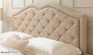 new BED-HEADS in linen colour QUEEN SIZE Bundall Gold Coast City Preview