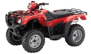 Honda ATV 4x4