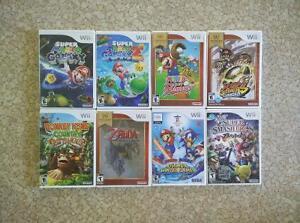 Jeux Wii (Mario, Zelda,  Donkey Kong)