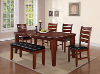 7pcs DINING ROOM SET ON CLEARANCE SALE. SALE ON NOW
