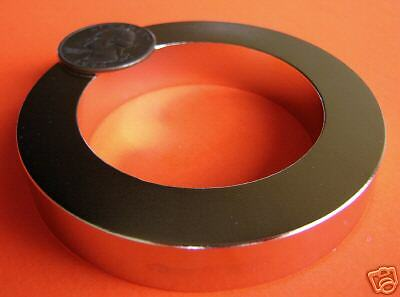 1 Strong 3 Odx 2 Idx 12 Inch Rare Earth Neodymium Ring Magnet Grade N42