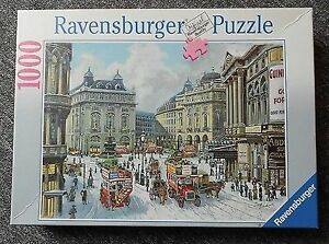 RAVENSBURGER PUZZLE 1000 PCS. PICCADILLY CIRCUS, LONDON