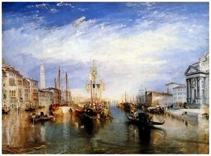 The Grand Canal, Venice by Turner Giclee Canvas Print