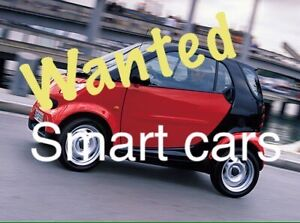 Smart Car WANTED - Buying your semi functional Smart Cars