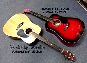 (2) Unusually NICE GUITARS ~~ EXCELLENT CONDITION!