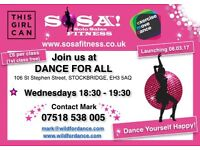 SOSA (Solo Salsa) Dance Fitness @ Dance for All - FREE TASTER CLASS