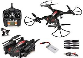 Skytech TK110HW WIFI FPV With 720P HD Camera Foldable 2.4GHz 6 Axis Gyro RC Quadcopter
