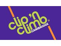 Experienced Cooked need to join the team of Cambridge's new climbing centre theme park