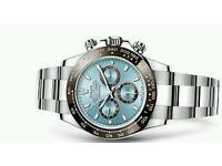 Luxury Rolex style watch for swap