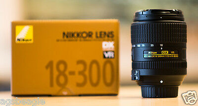Nikon AF-S DX 18-300mm F/3.5-6.3G ED VR  Lens Brand New With Shop Agsbeagle