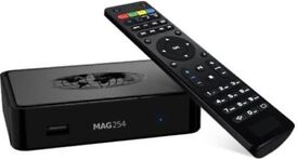 Mag freeview with 1000's of channels