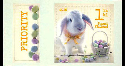 EASTER BUNNY 2016  MNH STAMP FINLAND