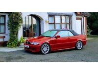 BMW 330CD m sport Convertible VERY LOW MILES 40k (330D, 320D, COUPE, A4, A5, CLK, 250, 320, DIESEL)