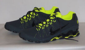 NIKE REAX 9 TR SN71 ANTHRACITE GREY BLACK GREEN VOLT TRAINERS AIR SHOES SNEAKERS