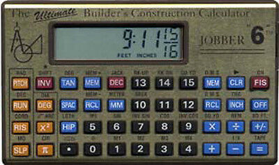 Jobber 6 Advanced Trigonometric Construction Calculator