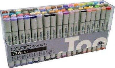 Copic  Sketch 72 piece Set D Artist Markers Designer Tools, Brand New