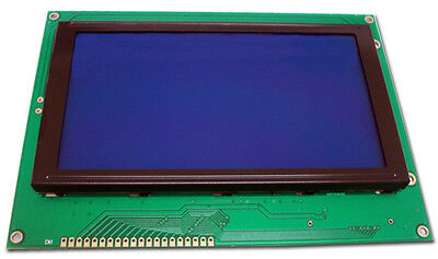 Jhd639bw 320x240 Graphic Lcd Display Module Blue White Blacklight