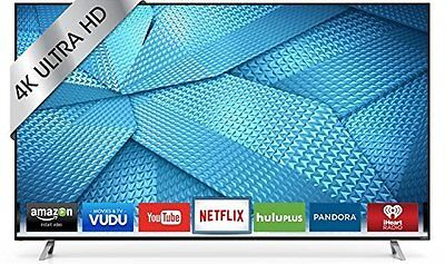 VIZIO M43-C1 43-Inch 4K Ultra HD ClearAction 360 Smart LED HDTV w/ built-in WiFi