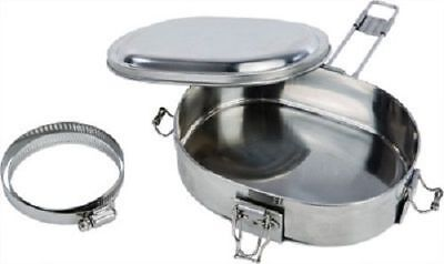 TRAIL CHEF ATV SNOWMOBILE FOOD EXHAUST CAN PIPE COOKER MUFFPOT WARMER MUFF POT