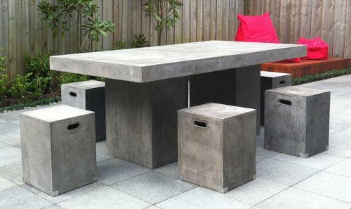 Concrete Table eBay : 3 from www.ebay.com.au size 500 x 297 jpeg 23kB