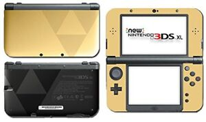 Gold legend of Zelda 3ds xl with 2 games and case