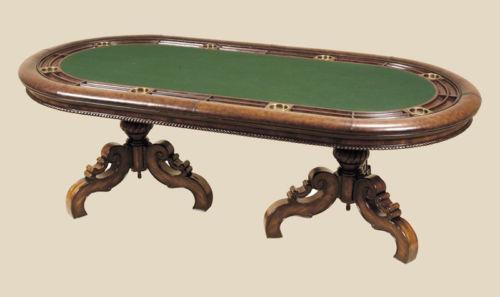 Antique Poker Table Ebay