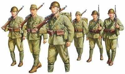 Fine Molds FM37 1/35 IMPERIAL JAPANESE ARMY INFANTRY SET from Japan