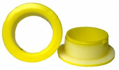 1 Pair Of Hand Saver Protector For Stretch Wrap Film Dispenser Yellow Color