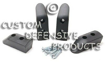 1911 Magazine Base Pads BLACK - 6 PACK Free Shipping - Lowest Price Best (Best Priced 1911 Pistols)