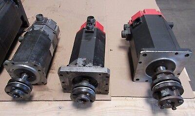 Fanuc Ac Servo Motor X Y Z Axis W Fanuc 10m System Fr Takisawa Mac-v2e Mc-compo