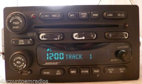 04 Trailblazer Radio | eBay