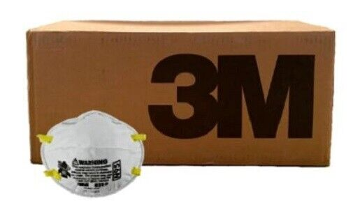 3M 8210 N95 Particulate Respirator 10 CASES/80 BOXES/1600 TOTAL MASKS EXP 5/2026 Business & Industrial