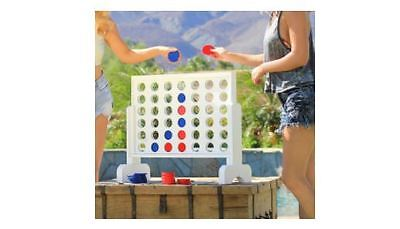 Giant Connect Four Indoor&Outdoor Party Fun Beach Game Adult