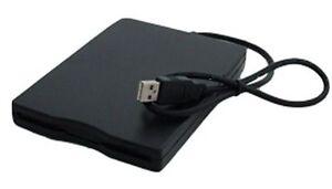 USB Floppy Disk Diskettenlaufwerk schwarz extern auch für Windows 8
