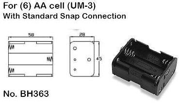 Battery Holder 6 AA