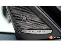 BMW NEW GENUINE F45 FRONT FRONT DOOR HARMAN KARDON TWEETER SPEAKER COVERS PAIR