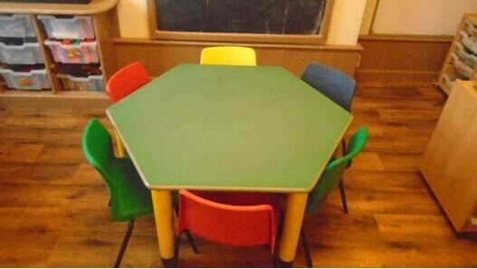 Four Tables And Six Chairs Pre School Nursery Early Years