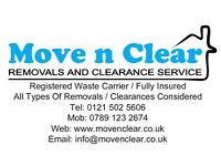 Man and Van / Furniture Removal / Rubbish Clearance.