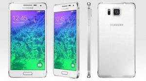 UNLOCKED SAMSUNG GALAXY ALPHA 32GB LTE G850W - MINT CONDITION