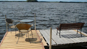 WATERFRONT COTTAGE FOR RENT, DALRYMPLE LAKE,