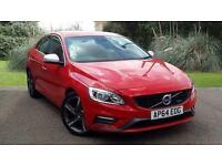 VOLVO S60 D2 R DESIGN 4 DOOR RED SALOON 1.6 DIESEL
