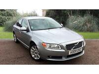 Volvo S80 2.4 ( 182bhp ) Geartronic 2009MY D5 SE Lux SALOON SILVER