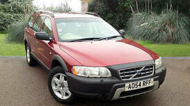 Volvo XC70 2.4D5 SE Auto Estate Red 2004
