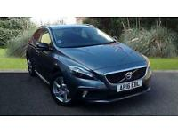 Volvo V40 2.0 D2 DIESEL Cross Country Lux Auto 5 Door Hatch Grey 2016